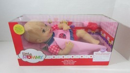 Fisher Price Baby So New Doll Little Mommy pink red ladybug outfit TORN box  - $22.76