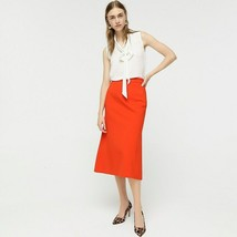 J Crew Midi A-line skirt in structured ponte - $101.99