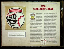 Cooperstown Collection Willabee & Ward 1956 Cincinnati Reds Baseball Patch  - $7.55