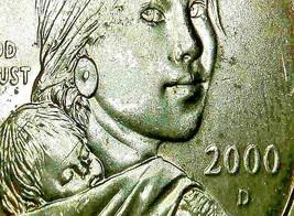 Sacagawea Dollar 2000 P and 2000 D ($1.00) AA20-CN2198
