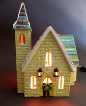 Department 56 Stone Church Snowhouse Series # 50830 Christmas Decoration... - $96.03