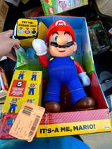 (NINTENDO) It's-a-me, Mario! [BRAND NEW] Super Mario Jakks Action Figure - $93.56