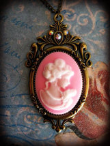 Spell Bound Cameo Pendant Cast for Increased Beauty Looks Self Confidenc... - $49.00