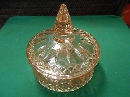 Great Pink INDIANA Glass  Candy Dish - $11.47