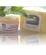 banana lotion and goats milk glycerin soap set - $12.00