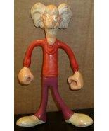 "MAD SCIENTIST PVC Bendy Figure toy 6.5"", 1987 ARCO Mattel - $28.99"
