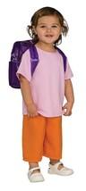 Rubies Dora The Explorer Deluxe Child Costume W/Backpack, Med 8-10 NEW - $16.42