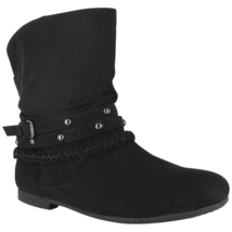 Dolce Womens Jojo Ankle Boot Black Size 7 #NJZVG-607 - $39.99