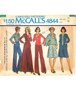 McCALL'S 4844 UNCUT SEWING PATTERN MISS SIZE 18 SHIRT JACKET - $3.00