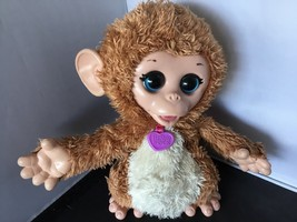 FurReal Friends Baby Cuddles My Giggly Monkey Pet 2013 Hasbro F23 - $11.19