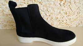 New Gucci Men's Black Suede Leather Boots Us 8.5 Gucci 8 $850 - $402.93