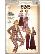 McCALL'S 8245 UNCUT SEWING PATTERN MISS SIZE 16 PANTS JACKET - $3.95