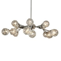 SJ2076 AURORA II GLASS GLOBE CHANDELIER   - $1,890.00+