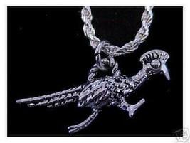 Roadrunner Road runner pendant charm Silver Jewelry - $17.26