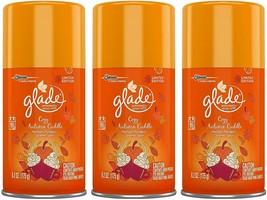 (3) Glade Automatic Spray Refill - Limited Edition - Cozy Autumn Cuddle - 6.2 Oz - $23.75