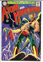 THE ATOM AND HAWKMAN #40 1969 Joe Kubert-Classic art! VG+ - $25.22