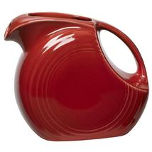 Fiesta Scarlet 28 oz. Small Disc Pitcher - $95.00