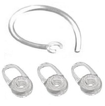 3 Replacement Eargel and 1 Earhook For Plantronics M70, M90, Voyager Edge - $3.68
