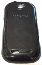 OEM Black Phone Back Door Cover Replacement For Samsung Corby M5650 GT-M... - $4.50
