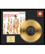 """Elvis Presley """"50,000,000 Fans Can't Be Wrong"""" Framed 18"""" x 24"""" 24K Gold... - $189.99"""