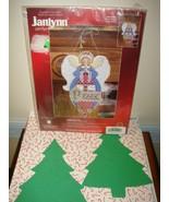 Janlynn Peace Angel Christmas Ornament Plastic Canvas Counted Cross Stit... - $49.99