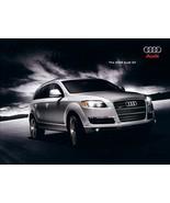 2008 Audi Q7 sales brochure catalog US 08 3.6 4.2 quattro - $8.00