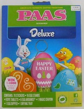 Paas Egg Decorating Kit Deluxe Egg Coloring Kit New - $6.92