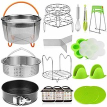 Aiduy 18 pieces Pressure Cooker Accessories Set Compatible with Instant ... - £35.33 GBP