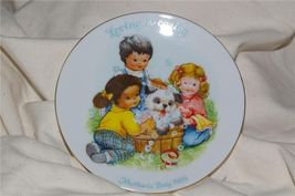 Vintage Avon Mother's Day Plate 1989 Great Gift - $6.99