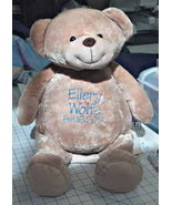 Personalized Custom Embroidered Bear - $44.95