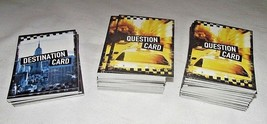 Cash Cab Game NYC Manhattan Replacement Playing Cards Token Cars Dice ON... - $19.78