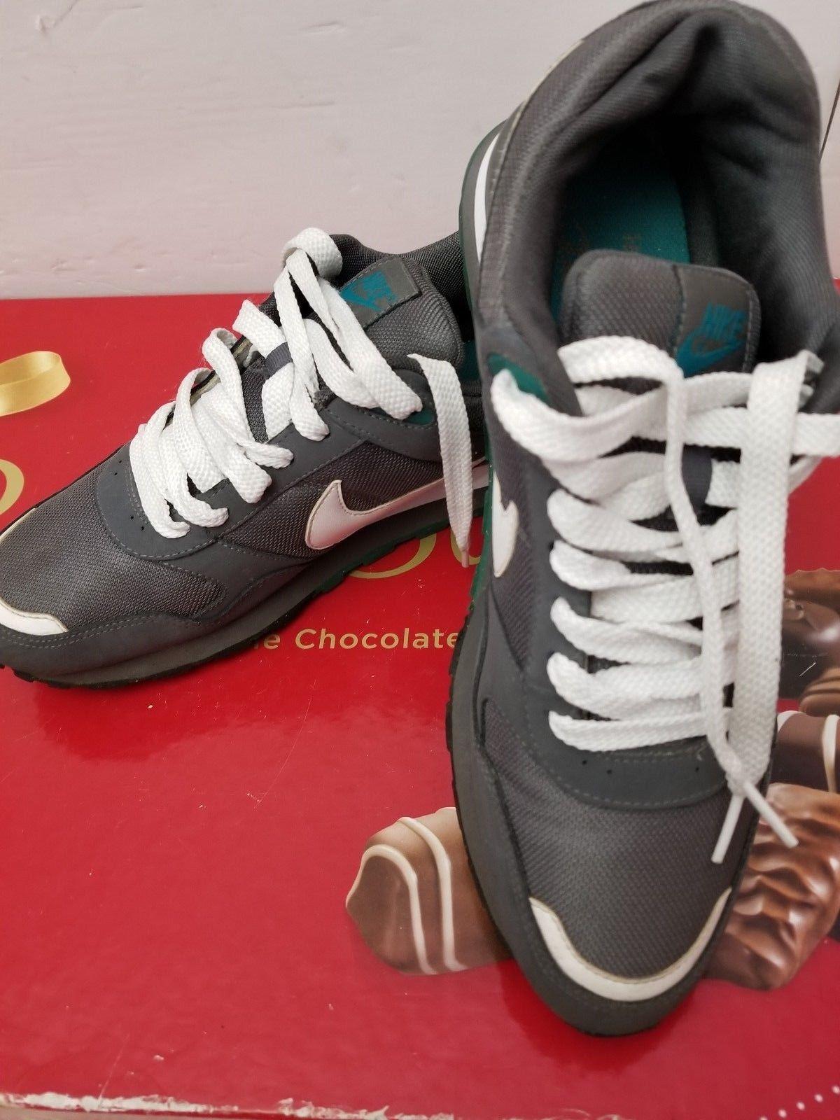 Nike 386156-009 TEAL LE Air Perforated Running Athletic Sneakers Men's US 9.5