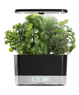 MiracleGro AeroGarden Harvest with Gourmet Herbs Seed 6 Pod Kit - Black - £98.95 GBP