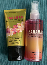 New Bath & Body Works Bahamas Passionfruit & Banana Flower Gift Travel S... - $11.88