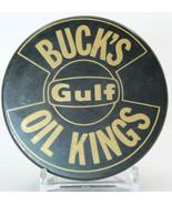 Buck's Oil Kings Gulf Official Hockey Puck (WW) - $45.06