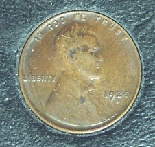1925-D Lincoln Wheat Back Penny EF40 #1158 image 1