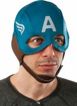 Captain America Retro Fabric Mask Marvel Avengers Halloween Costume Accessory - $18.17