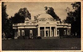 VINTAGE PICTURE POSTCARD- MONTICELLO - HOME OF THOMAS JEFFERSON, VA  BK20 - $2.45