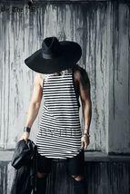 ByTheR Unisex Modern Chic Classic Style Floppy Wide Brim Wool Felt Fedora Hat image 8