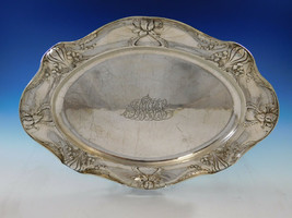 """Martele by Gorham .9584 Sterling Silver Large Meat Tray Platter 17 1/2"""" (#0924) - $10,500.00"""