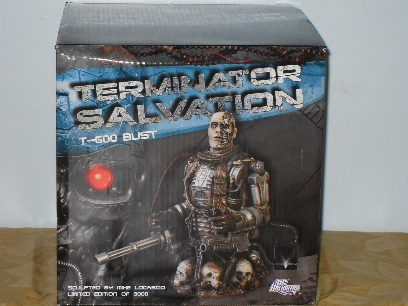 Terminator Salvation T-600 Bust Limited Edition New In The Box