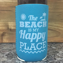 The Beach is my Happy Place Neoprene Drink Cool... - $3.00
