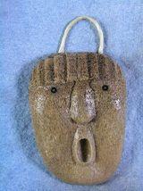 Whalebone Spirit Mask by Athabaskan Carver Wesley Owen, Interior Ak image 1