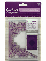 Crafter's Companion Cut and Emboss Folder ROYAL TRELLIS 4.25 x 5.5 Inch ... - $9.99