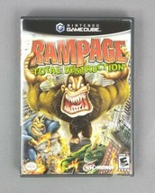 Rampage: Total Destruction (Nintendo GameCube, Midway, 2006) Complete w/... - $17.77