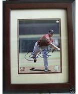Autographed Framed Photograph Astros Brandon Backe NR - $24.93