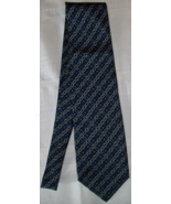 Fendi 100% Silk Neck Tie Italy Preowned Navy Authenticated A4U - $28.00