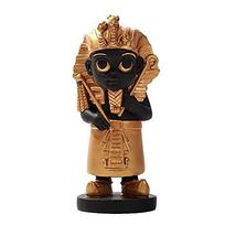Pacific Giftware Ancient Egyptian King TUT God Miniature Statue Black Gold - $21.77