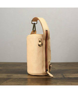 Sale, Vintage Full Grain Leather Bucket Bag, Handmade Shoulder Bag. - $135.00