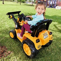 Dirt Digger Ride On Kids Toy Realistic Rugged Electric 12V Battery Power... - $208.74